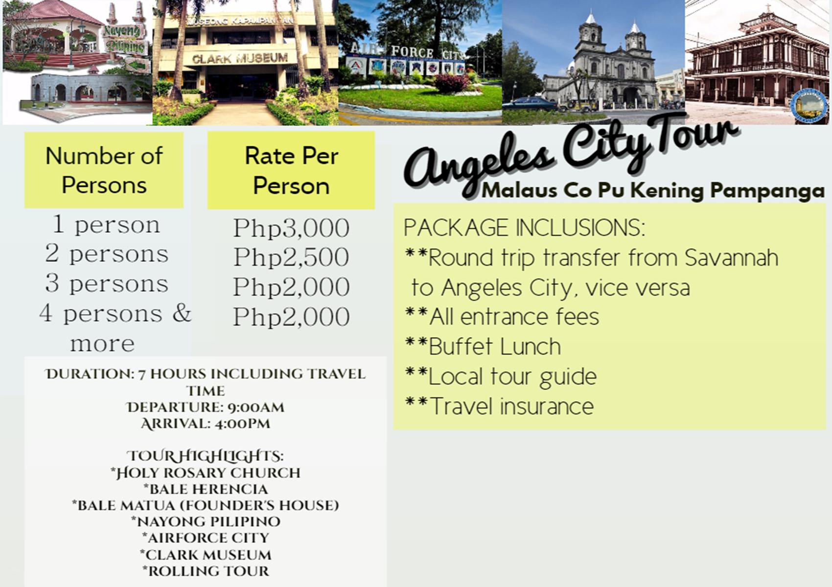 Angeles City Tour